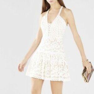 BCBG MaxAzria Carlita Fit & Flare Lace Dress